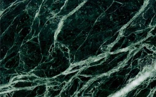 Đá Marble tự nhiên màu xanh rễ cây hình thành từ những khối đá vôi