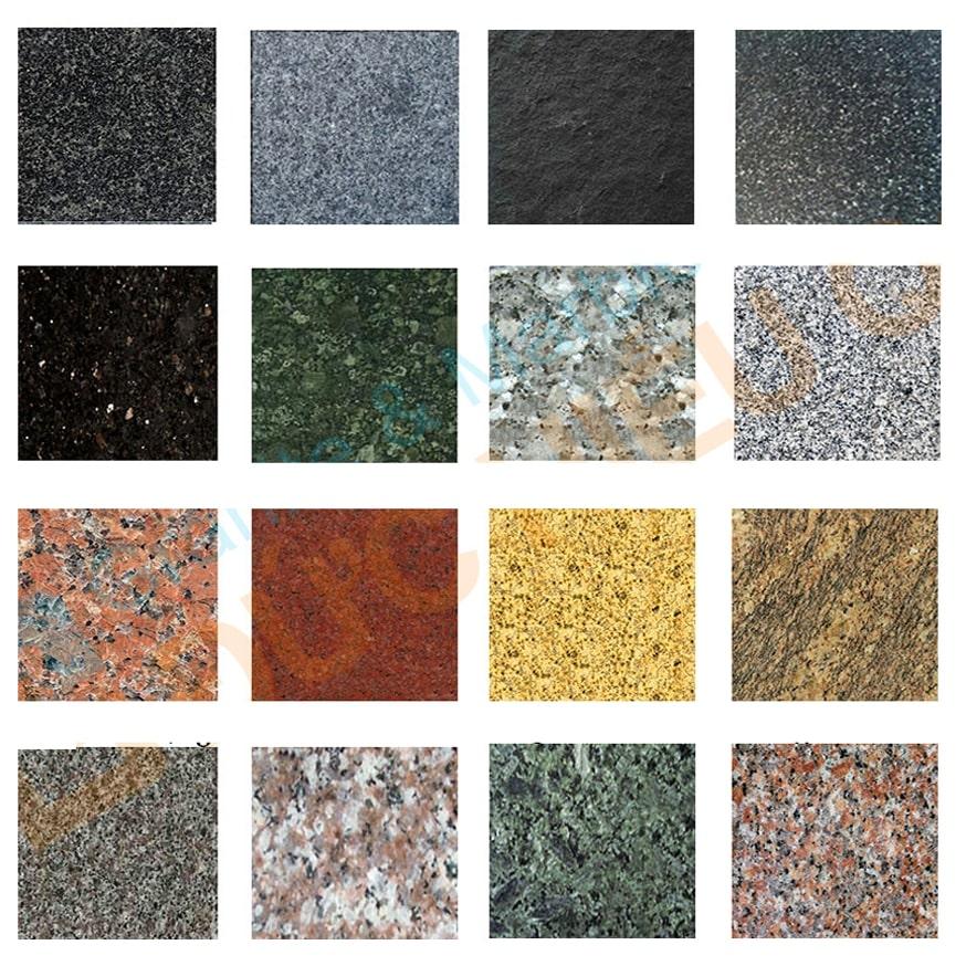 Mỗi loại đá kiểu dáng khác nhau sẽ có giá khác nhau