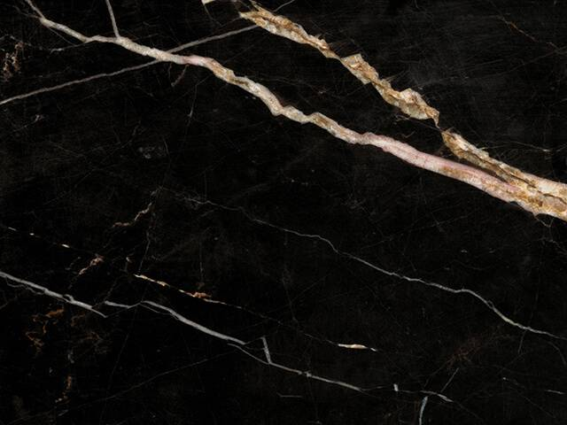 Đá Marble Laurent Black and Gold xuất xứ Tunisia