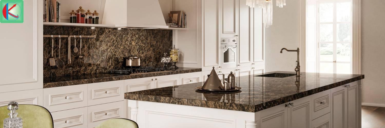 Đá marble nâu Tây Ban Nha nổi tiếng thế giới