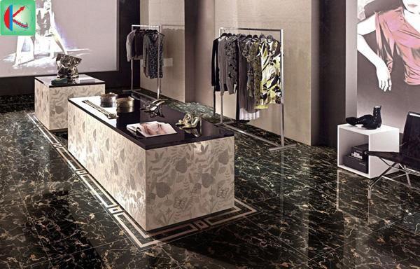 Màu sắc sang trọng từ đá marble nâu Trung Quốc