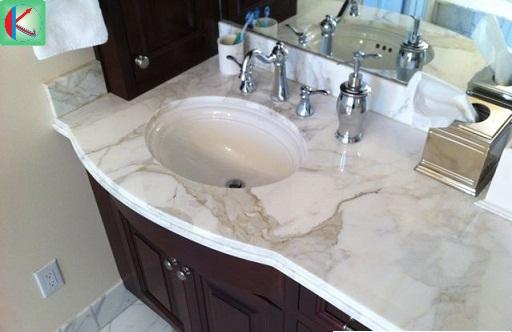 Nhiều người tin dùng loại đá marble trắng Ý