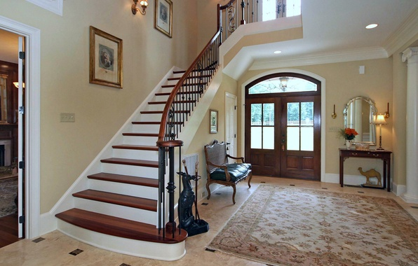 Mặt tiền hay cầu thang là vị trí được chú ý nhiều nên rất cần tính thẩm mỹ