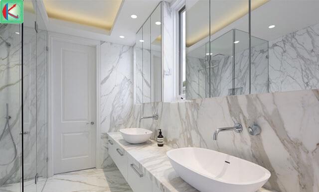 Đá marble trắng có rất nhiều ứng dụng