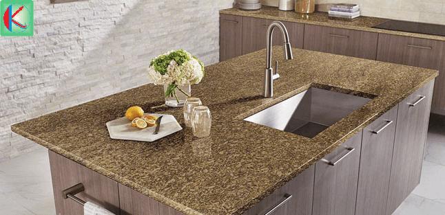 Đá tự nhiên Granite Almond Gold