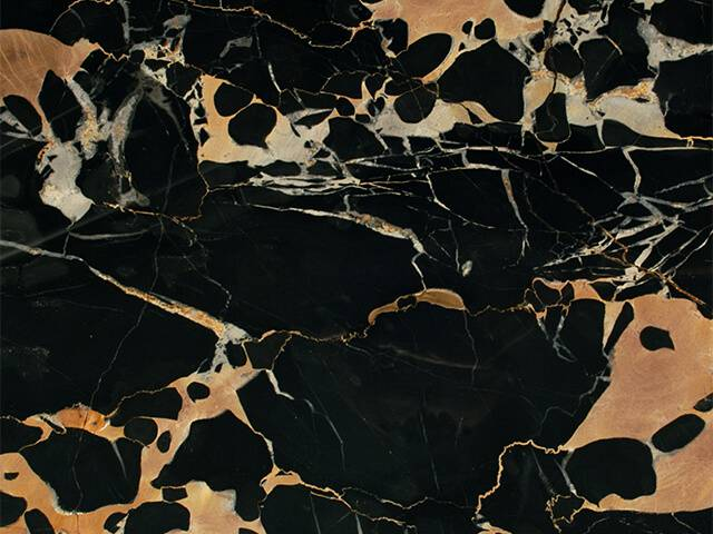 Đá Marble black yellow italia