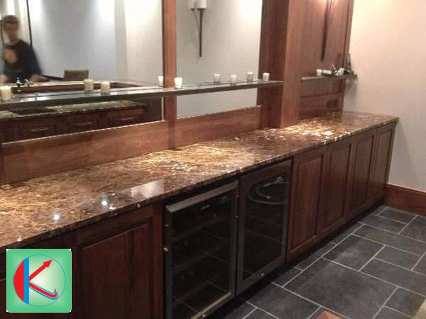 Spanish brown marble