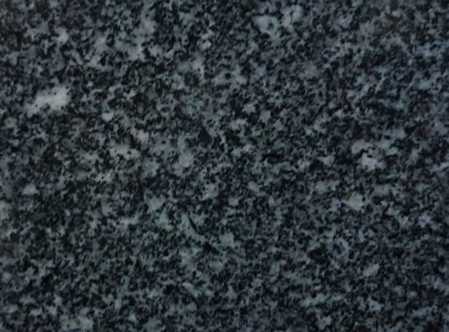 Indian black granite white cotton