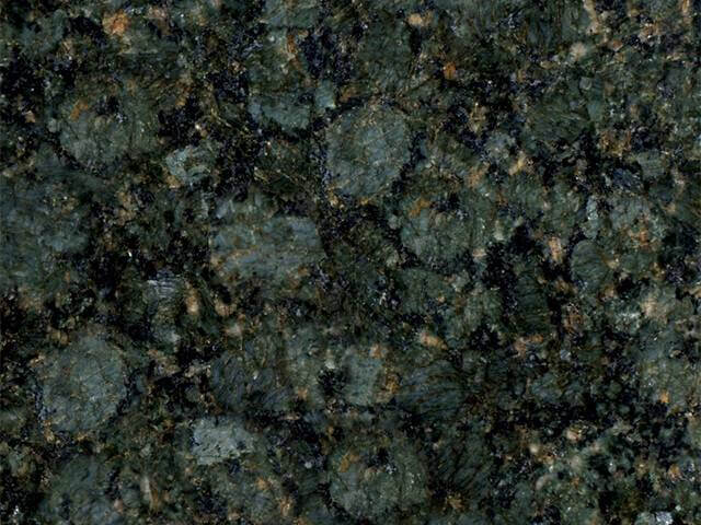 Green butterfly granite