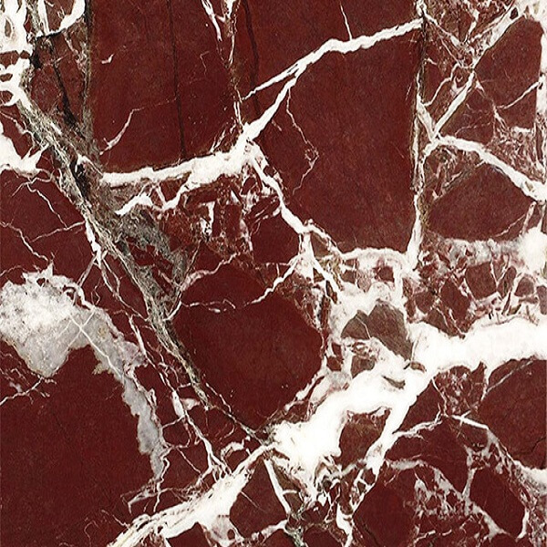 Magenta red marble